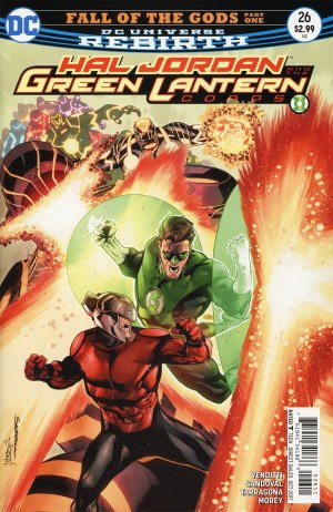 Green Lantern Rebirth # 26 Issues (2016-2018)