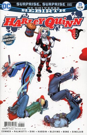 Harley Quinn Rebirth # 25 Issues V3 (2016 - Ongoing) - Rebirth
