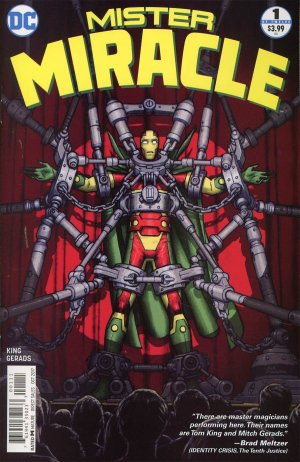 Mister Miracle # 1 Issues V4 (2017 - 2018)