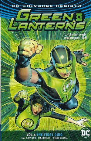 Green Lanterns # 4 TPB softcover (souple)
