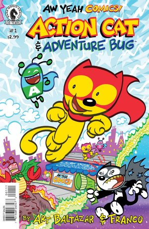 Aw Yeah Comics - Action Cat & Adventure Bug édition Issues (2016)