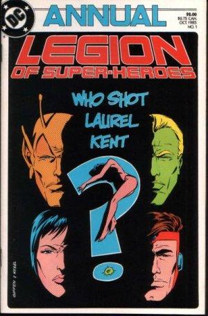 La Légion des Super-Héros # 1 Annuals V3 (1985 - 1988)