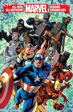 All-New, All-Different Marvel Reading Chronology édition Issues