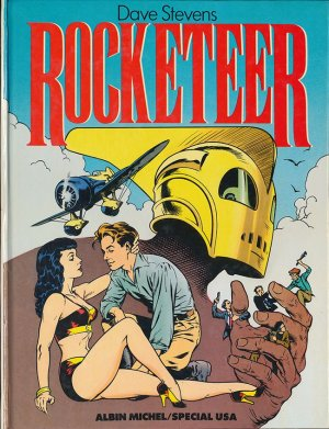 Rocketeer édition Simple (1985)