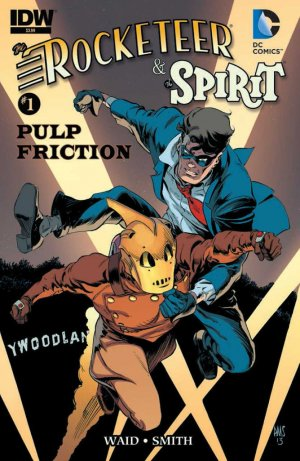 The Rocketeer / The Spirit - Pulp Friction édition Issues (2013)