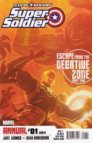 Steve Rogers - Super-Soldier édition Issues V1 - Annual (2011)