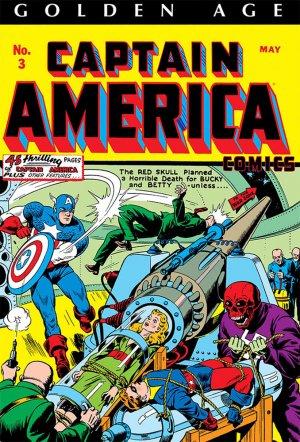 Captain America Comics # 1 Omnibus hardcover