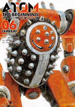 couverture, jaquette Atom - The beginning 6  (Shogakukan) Manga