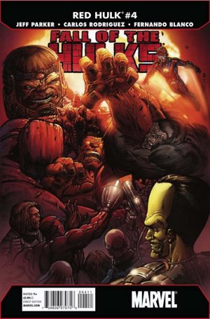 Fall of the Hulks - Red Hulk # 4 Issues (2010)