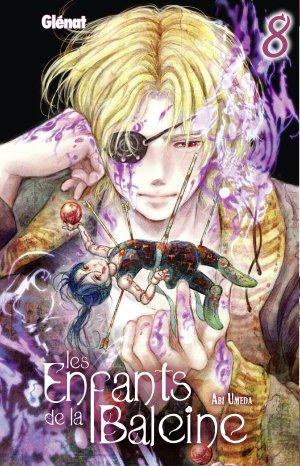 couverture, jaquette Les enfants de la baleine 8  (Glénat Manga)