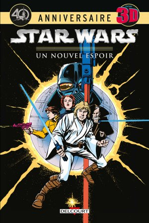 Star Wars - Un Nouvel Espoir - Edition Spéciale 3D édition TPB hardcover (cartonnée)