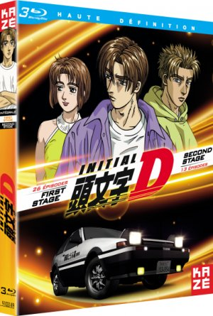 Initial D - First stage + Second stage  Simple Blu-ray