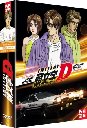 Initial D - First stage + Second stage  Simple DVD