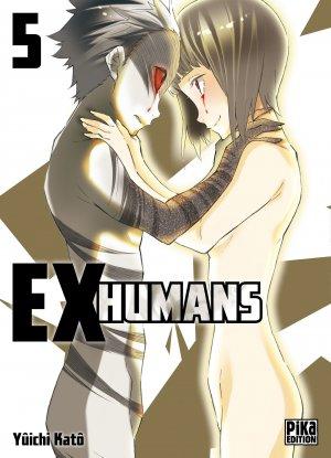 couverture, jaquette Ex-humans 5  (Pika) Manga