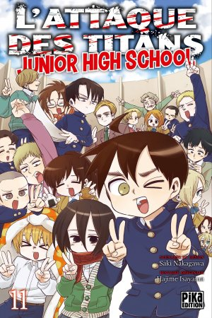 L'attaque des titans - Junior high school 11 Simple