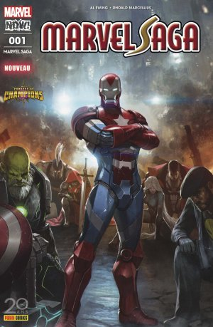 Marvel Saga édition Kiosque V4 (2017)