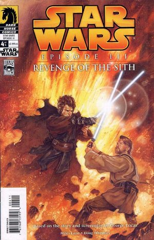 Star Wars - Episode III - Revenge of the Sith # 4 Issues (2005)