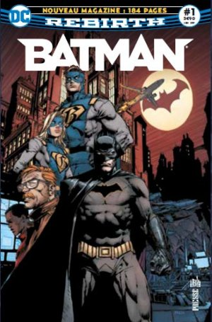 Batman Rebirth # 1 Kiosque V1 (2017 - En cours)