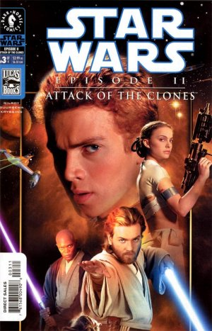 Star Wars - Episode II - Attack of the Clones # 3 Issues (2002)