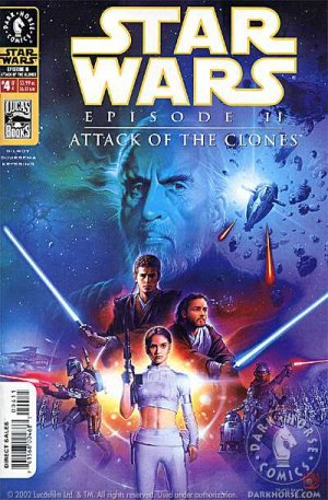 Star Wars - Episode II - Attack of the Clones # 4 Issues (2002)