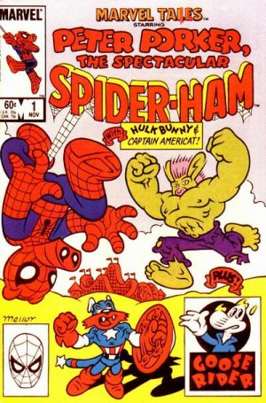 Marvel Tails Starring Peter Porker, The Spectacular Spider-Ham édition Issue (1983)