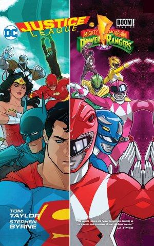 Justice League / Power Rangers édition TPB hardcover (cartonnée)