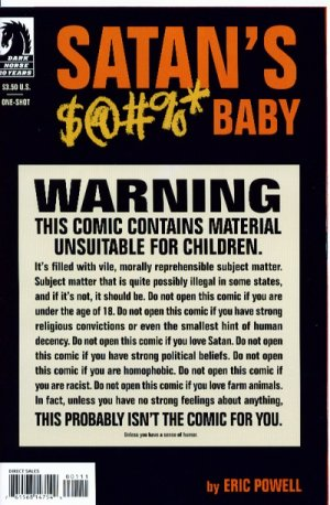 Satan's Sodomy Baby édition Issues (2007)