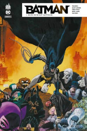 Batman Rebirth # 1 TPB Hardcover (cartonnée)