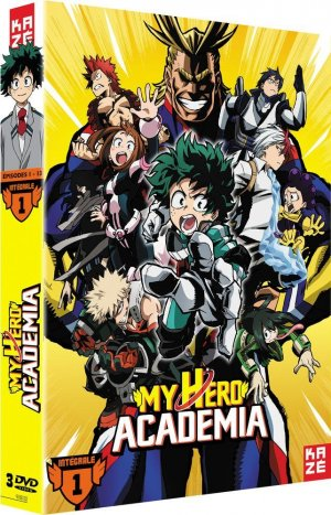 My Hero Academia édition DVD