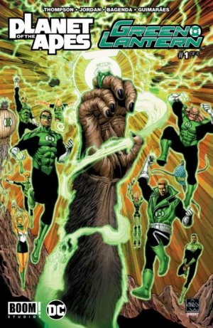 Planet of The Apes / Green Lantern édition Issues (2017)