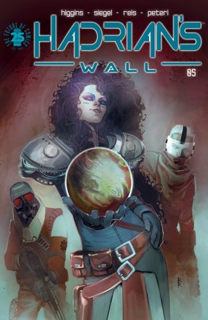 Hadrian's Wall # 5 Issues (2016 - 2017)