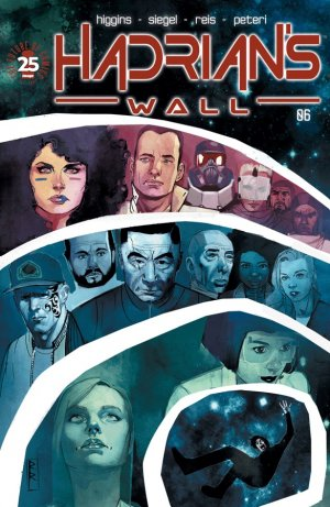 Hadrian's Wall # 6 Issues (2016 - 2017)