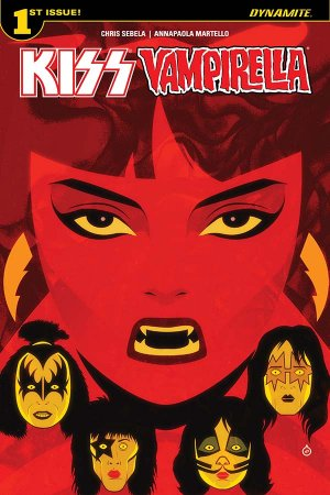 KISS / Vampirella édition Issues (2017)