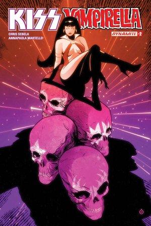 KISS / Vampirella # 2 Issues (2017)