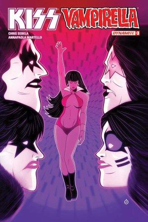 KISS / Vampirella # 3 Issues (2017)