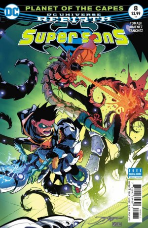 Super Sons # 8 Issues V1 (2017 - 2018)