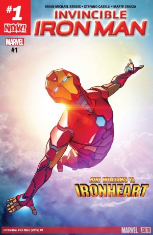 Invincible Iron Man # 1 Issues V3 (2017 - 2018)