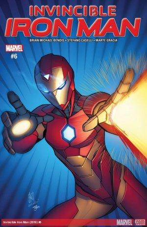 Invincible Iron Man # 6 Issues V3 (2017 - 2018)