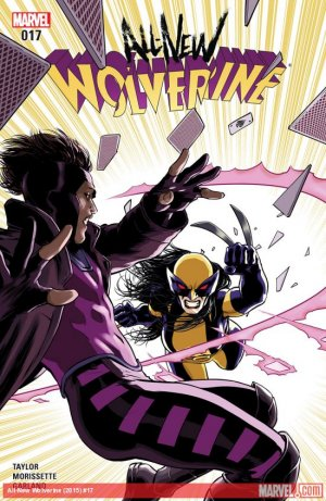 All-New Wolverine # 17 Issues (2015 - 2018)