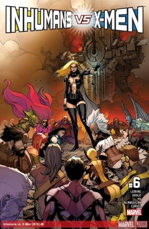 Inhumans Vs. X-Men # 6 Issues (2017)