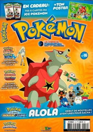 Pokemon - magazine officiel 16 Simple