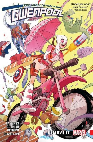 Gwenpool édition TPB softcover (souple)