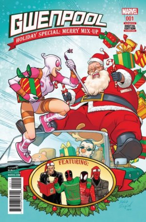 Gwenpool Holiday Special - Merry Mix-Up édition Issue (2017)