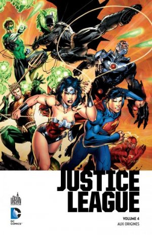 Justice League # 4 TPB hardcover (cartonnée) - Premium (2016)
