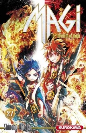 Magi - The Labyrinth of Magic 27 Française