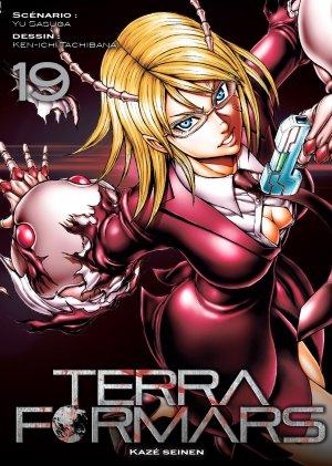 couverture, jaquette Terra Formars 19  (kazé manga)