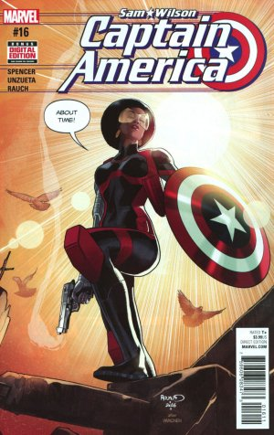 Sam Wilson - Captain America # 16 Issues (2015 - 2017)