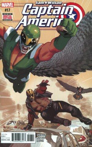 Sam Wilson - Captain America # 17 Issues (2015 - 2017)