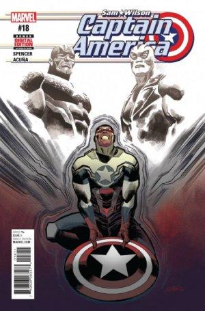 Sam Wilson - Captain America # 18 Issues (2015 - 2017)