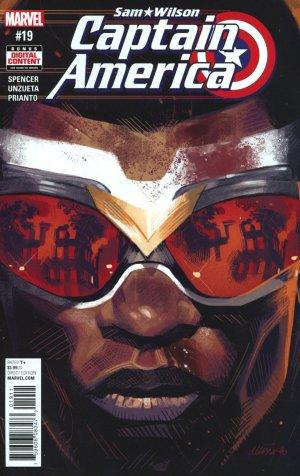 Sam Wilson - Captain America # 19 Issues (2015 - 2017)